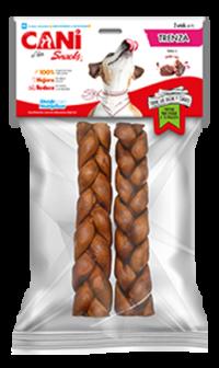 trenza cani snacks